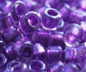 DB-0906 Sparkling Purple Lined Crystal