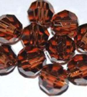 Smoked Topaz - 6 mm