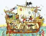 Cut Thru' Pirate Ship