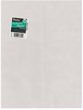 Plastcanvas 5,4 rutor Clear, 14 count