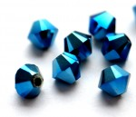 Crystal Metallic Blue 2x - 4 mm