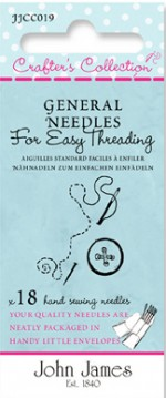 General Needles - for Easy Threading