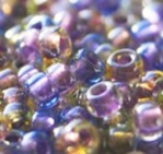 15-3056 Sparkle Lined Majestic Mix (Purple Gold)