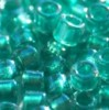 DB-0904 Sparkling Aqua Green Lined Crystal